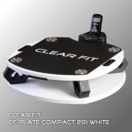 Виброплатформа Clear Fit Compact 201 WHITE